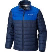 Columbia POWDER LITE JACKET tmavo modrá S - Pánska zimná bunda