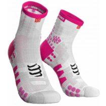 Compressport RACE V3.0 RUN HI svetlo ružová T3 - Bežecké ponožky