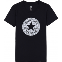 Converse VOLTAGE CHUCK PATCH NOVA TEE čierna M - Dámske tričko
