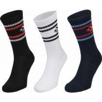 Converse MENS VINTAGE STAR 3P čierna 39-42 - Pánske ponožky