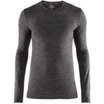 Craft FUSEKNIT COMFORT LS čierna L - Pánske funkčné tričko