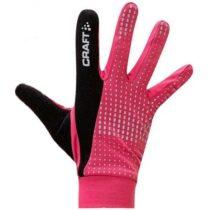 Craft BRILLIANT ružová XS - Funkčné bežecké rukavice