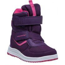 Crossroad CARAT fialová 28 - Detská zimná obuv
