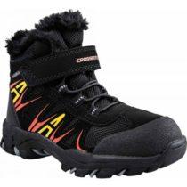 Crossroad CASIM čierna 34 - Detská treková obuv