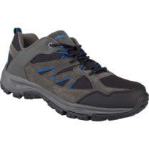 Crossroad DAFOE tmavo šedá 44 - Pánska treková obuv