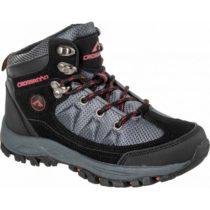 Crossroad DHUS čierna 26 - Detská treková obuv