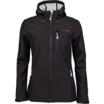 Crossroad FLORY čierna M - Dámska softshellová bunda