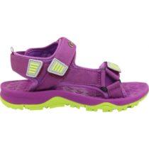 Crossroad MAJOR fialová 33 - Detské sandále