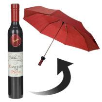 Dáždnik fľaša vína