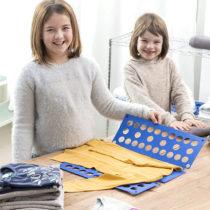 Doska na skladanie detského oblečenia