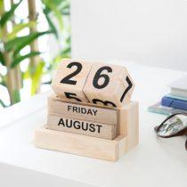Drevený kalendár