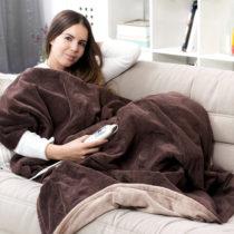 Elektrická fleecová deka