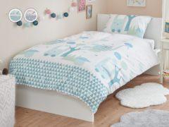 Posteľné obliečky Dormeo Fairy Forest, 140x200 cm, modrá