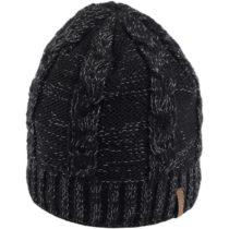 Finmark DIVISION čierna UNI - Dámska pletená čiapka