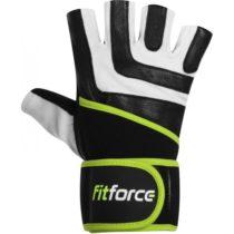 Fitforce DIRECT biela XL - fitness rukavice