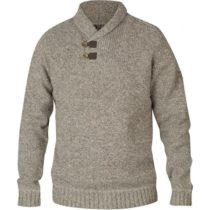 Fjällräven LADA SWEATER šedá XL - Pánsky sveter
