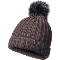 FLLÖS KRIS hnedá UNI - Dámska zimná čiapka