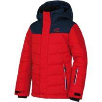 Hannah KINAM JR červená 152 - Detská lyžiarska bunda
