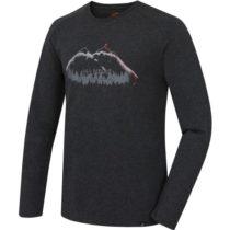 Hannah SINCLAIR tmavo šedá XL - Pánske tričko