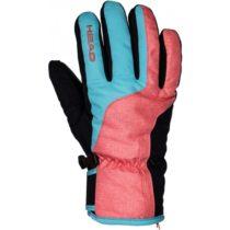 Head IRIS oranžová S - Dámske lyžiarske rukavice