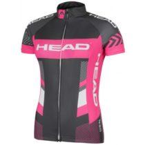 Head LADY JERSEY TEAM šedá XS - Dámsky cyklistický dres