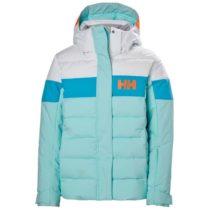 Helly Hansen JR DIAMOND JACKET modrá 16 - Dievčenská lyžiarska bunda
