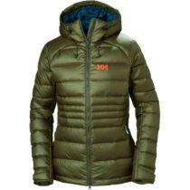 Helly Hansen VANIR ICEFALL DOWN JACKET W zelená S - Dámska páperová bunda