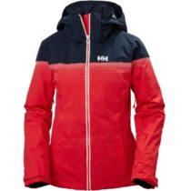 Helly Hansen MOTIONISTA LIFALOFT JACKET W červená L - Dámska lyžiarska bunda