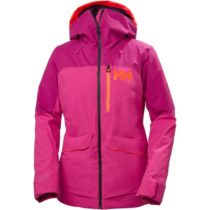 Helly Hansen POWCHASER LIFALOFT JACKET W ružová XS - Dámska lyžiarska bunda