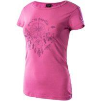 Hi-Tec LADY EBERRY ružová S - Dámske tričko