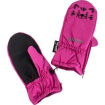 Hi-Tec NOIDI ružová S/M - Detské rukavice