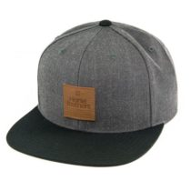 Horsefeathers NATAN CAP šedá UNI - Snapback šiltovka
