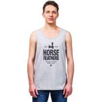 Horsefeathers SPIGOT TANK šedá S - Pánske tielko