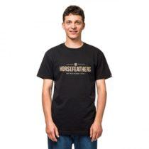 Horsefeathers MELWILL SS T-SHIRT čierna XL - Pánske tričko