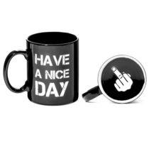 Hrnček Have a nice day - čierny