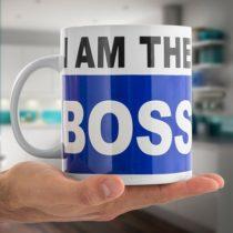 Veľký hrnček I am the Boss
