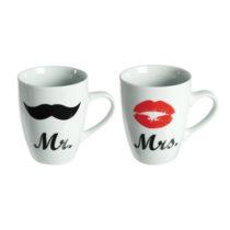 Hrnčeky Mr a Mrs
