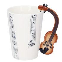 Hudobný hrnček - husle