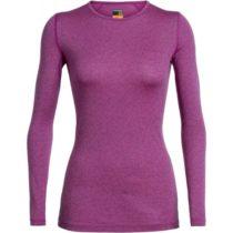 Icebreaker OASIS LS CREWE SKY PATHS fialová XS - Funkčné tričko