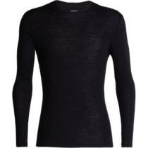 Icebreaker 175 EVERYDAY LS CREWE čierna S - Pánske funkčné tričko