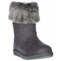 Junior League BONNIE čierna 33 - Detská zimná obuv