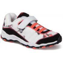 Junior League DIKE 2 biela 33 - Dievčenské vychádzkové topánky