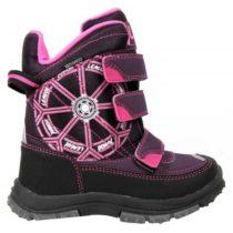 Junior League RUNAR fialová 31 - Detská zimná obuv