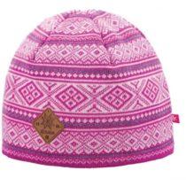 Kama A102-114 ČEPICE MERINO ružová UNI - Pletená čiapka
