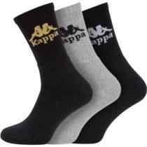 Kappa AUTHENTIC AILEL 3P šedá 35-38 - Ponožky