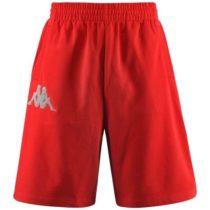 Kappa AUTHENTIC BAREY červená 2XL - Pánske šortky