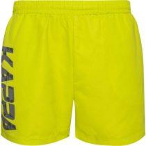 Kappa LOGO KILANGIL žltá L - Pánske kúpacie šortky
