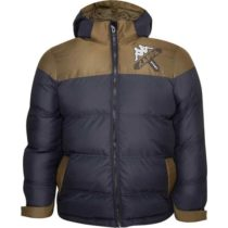 Kappa LOGO ZITRAX čierna M - Detská zimná bunda