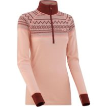 KARI TRAA LOKKE H/Z ružová M - Dámske termo tričko