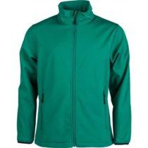 Kensis RORI zelená M - Pánska softshellová bunda